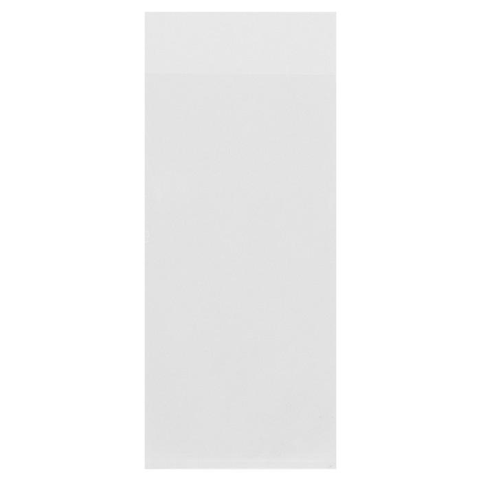 Пакет БОПП без липкой ленты 6 х 12/14 см, 25 мкм
