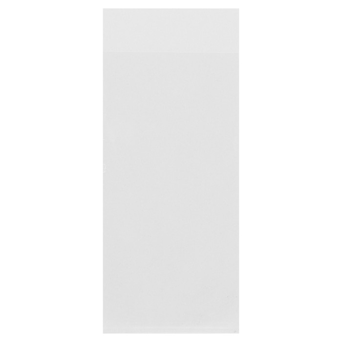 Пакет БОПП без липкой ленты 6 х 1214 см, 25 мкм