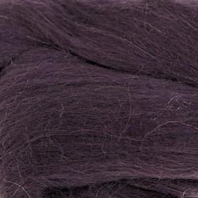 Шерсть для валяния 100% полутонкая шерсть 50гр (35 моренго) Ош