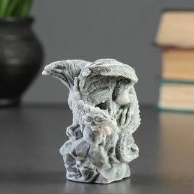 Сувенир 'Дракон на камне ' 8,5см Ош