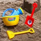 Набор для игры в песке: лейка, совок, грабли, PAW PATROL цвет МИКС, 180 мл