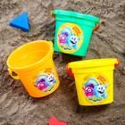 Ведро для игры в песке, СМЕШАРИКИ цвет МИКС, 530 мл