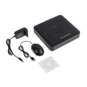 Видеорегистратор мультигибрид Proconnect, AHD-H/CVI/TVI/IP,1080 Р, 4 канала Ош