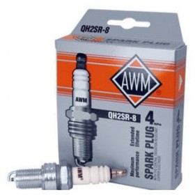 Свечи зажигания AWM, QH2SR-8, медь, набор 4 шт Ош