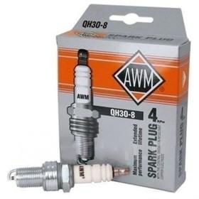 Свечи зажигания AWM, QH3O-8, медь, набор 4 шт Ош