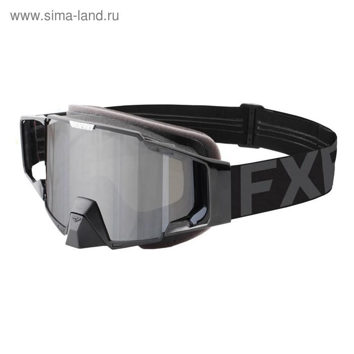 Очки FXR Pilot, взрослые, чёрный, серый
