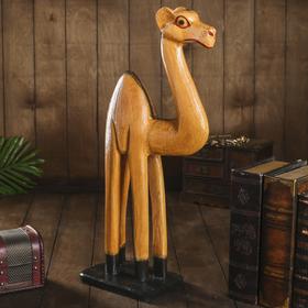 Сувенир дерево 'Верблюд бежевый' 13х30х60 см Ош