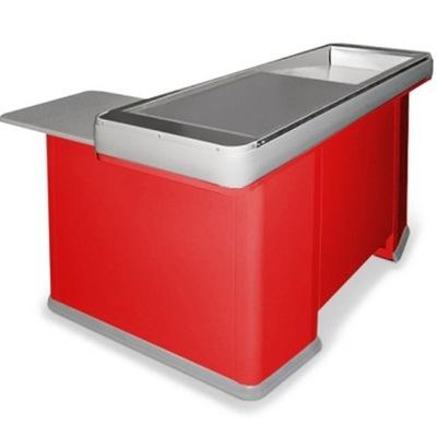 Кассовый бокс 1500 универсальный, покрытие шлифованное, цвет красный