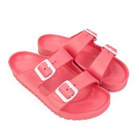 Сланцы женские пляжные, цвет розовый, размер 36