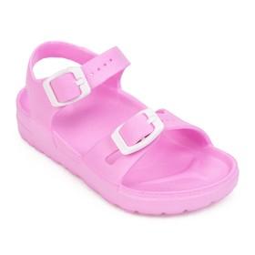 Сандалии детские, цвет розовый, размер 29