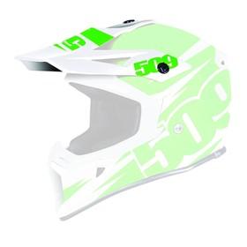 Козырек 509 Tactical, белый, зелёный Ош