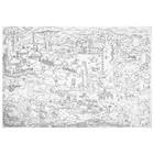 Большая раскраска «Саванна», 101 х 69 см