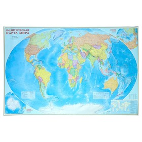 Карта Мира политическая, 230 х 150 см, 1:11.5 млн.