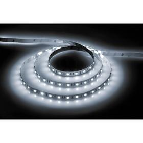 Лента светодиодная LS606, с драйвером 60Вт, 60SMD(5050)/м, 14.4Вт/м, 12V, 6500К, 3 метра