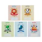 Тетрадь 12 листов клетка «Гарри Поттер», обложка мелованный картон, МИКС