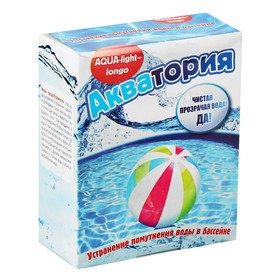 Средство от помутнения воды в бассейнах Акватория  AQUA-light- longo, 500 г Ош