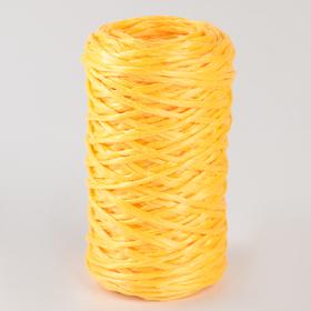Шпагат ПП, d=1,6 мм, 60 м, цвет жёлтый Ош