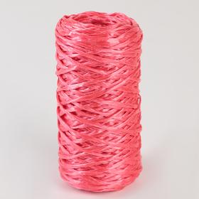 Шпагат ПП, d=1,6 мм, 60 м, цвет красный Ош