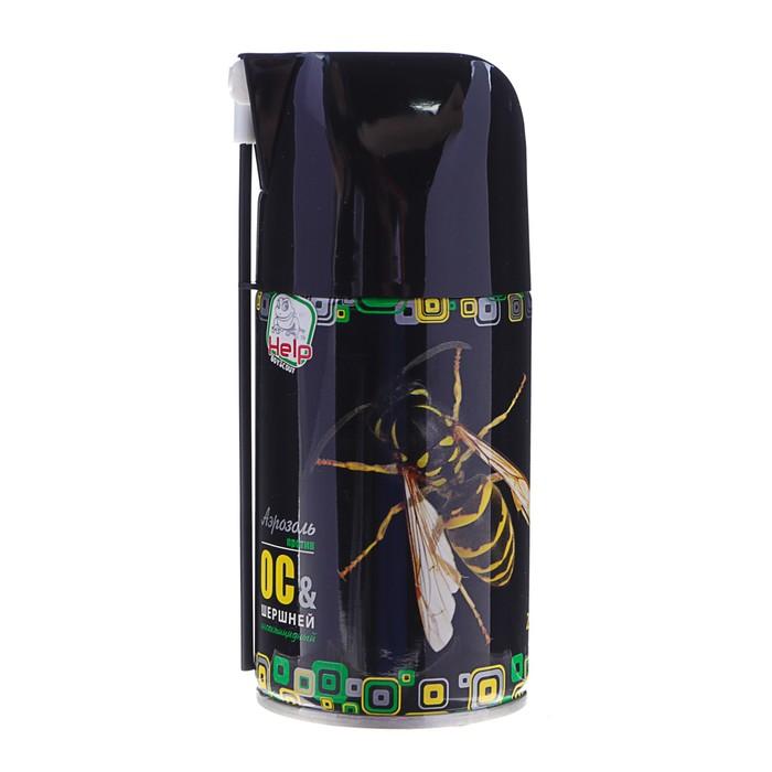 """Аэрозоль от ос и шершней """"HELP"""", инсектицидный, 250 мл"""