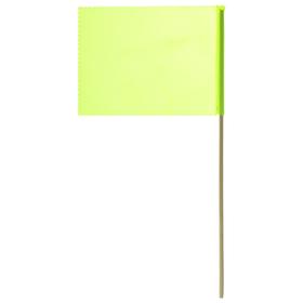 Флажок, длина 40 см, 15 × 20, цвет салатовый Ош