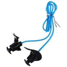 Беруши для плавания с верёвочкой, силиконовые, цвета МИКС Ош