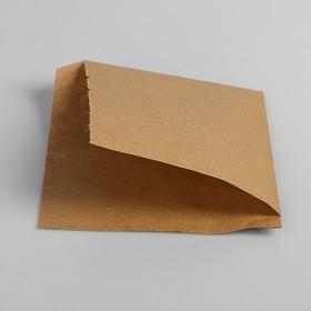 Пакет бумажный фасовочный, «Уголок», крафт, 16 х 17 см Ош