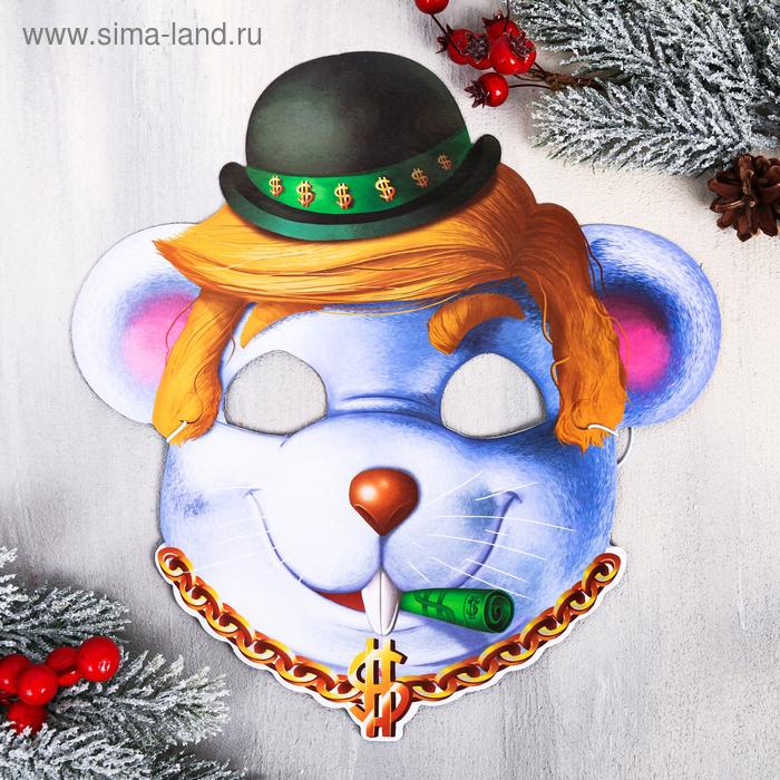 Маска новогодняя «Банкир»