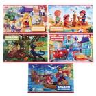Альбом для рисования А5, 8 листов на скрепке «Для мальчиков», обложка мелованный картон, МИКС