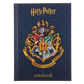 Бизнес-блокнот А6, 64 листа «Гарри Поттер», твёрдая обложка