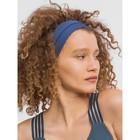 Повязка на голову, цвет синий, размер 56