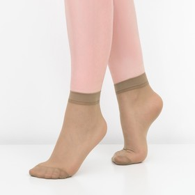 Носки женские, 30 ден, цвет загар, размер 36-40 (р-р 23-25) Ош
