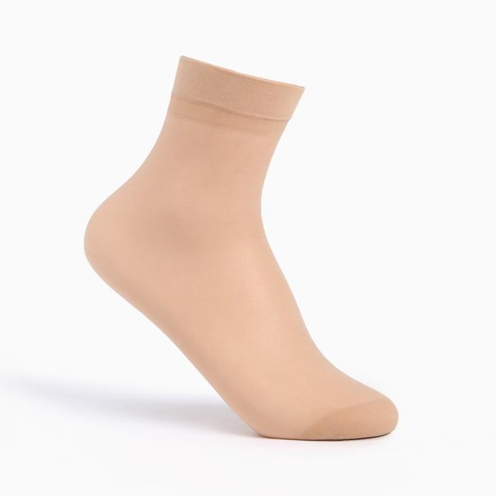 Носки женские, 30 ден, цвет загар, размер 23-25 (р-р обуви 36-40)