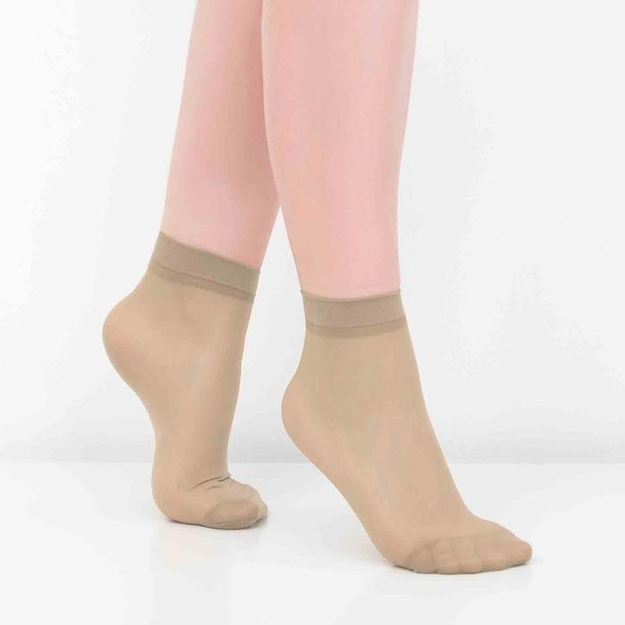 Носки женские, 30 ден, цвет телесный, размер 23-25 (р-р обуви 36-40)