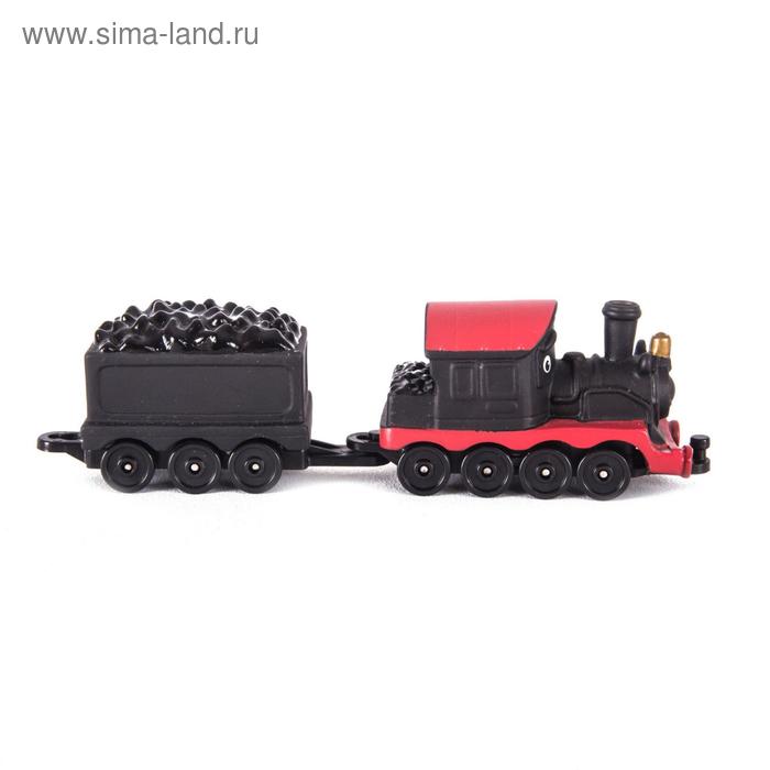 Игровой набор «Паровозик с вагончиком Пит»