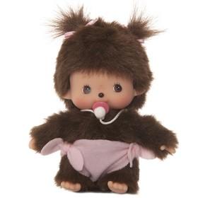 Фигурка Monchhichi «Бэбичичи: девочка в подгузнике», 15 см