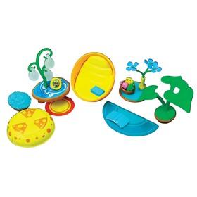 Игровой набор аксессуаров Monchhichi для гостиной комнаты, с голубым ковром