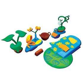 Игровой набор аксессуаров Monchhichi для спальной комнаты, с зелёным ковром