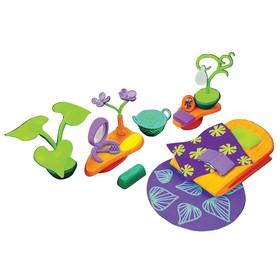 Игровой набор аксессуаров Monchhichi для спальной комнаты, с фиолетовым ковром