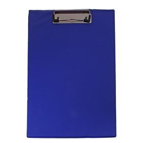 Планшет с прижимом А4, синий Ош