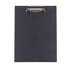 Планшет с прижимом, формат А4, чёрный