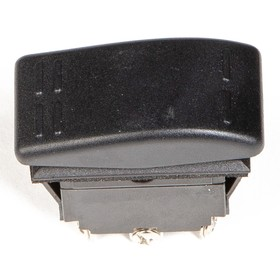 Переключатель Skipper SW30F18166P, пластик черный, -16АА, 12V Ош