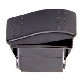 Переключатель Skipper SW21UF18204P, пластик черный, -20АА, 12V Ош