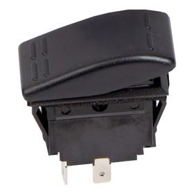 Переключатель Skipper 1011202, пластик черный, -15АА, 12V Ош