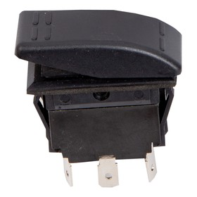 Переключатель Skipper 1011301, пластик черный, -15АА, 12V Ош