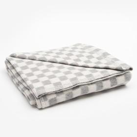 Одеяло байковое размер 100х140 см, цвет микс для универс., хл80%, ПАН 20%, 420гр/м Ош