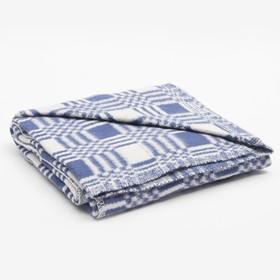 Одеяло байковое размер 90х140 см, цвет микс для мал., хл80%, ПАН 20%, 420гр/м Ош