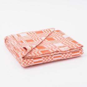 Одеяло байковое размер 90х140 см, цвет микс для универс., хл80%, ПАН 20%, 420гр/м Ош