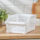 Корзинка для продуктов в холодильник 20×30×14 см