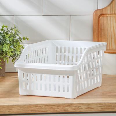 Корзина для продуктов в холодильник, цвет МИКС - Фото 1