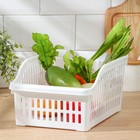 Корзина для продуктов в холодильник, цвет МИКС - Фото 2